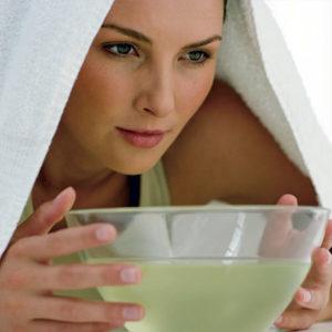 Calmar la tos con vapor de agua